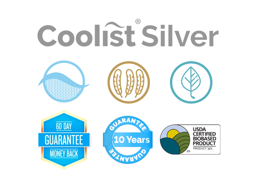 Coolist® Silver - 50% Off