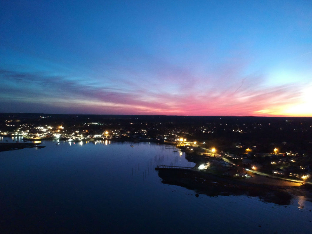 Scituate Evening Drone