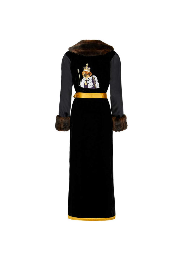 King Bobi - Gold Robe - Faux Fur