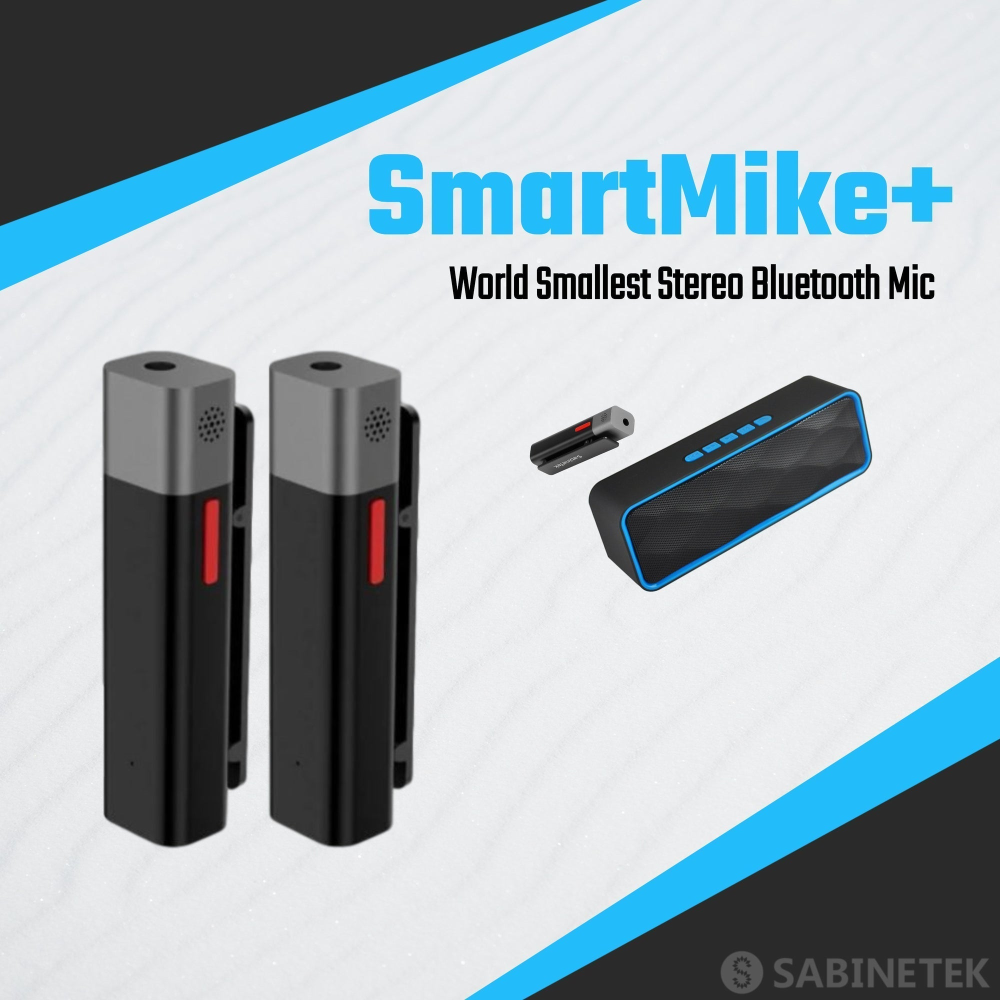 Sabinetek Announces Official Global Market Launch of SmartMike+