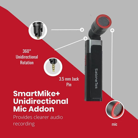 SmartMike+™ is the True Wireless Stereo Mic for Content Creators