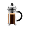 Bodum Chambord French Press 3 cup Silver / Rose Gold