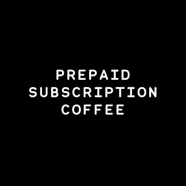 Griffiths Bros. | Prepaid 3 month coffee subscription