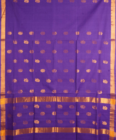 Lavender Handloom Venkatagiri Cotton Saree