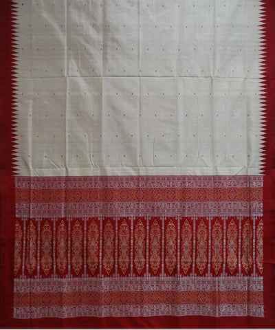 Auburn Handloom Bomkai Silk Dress Material