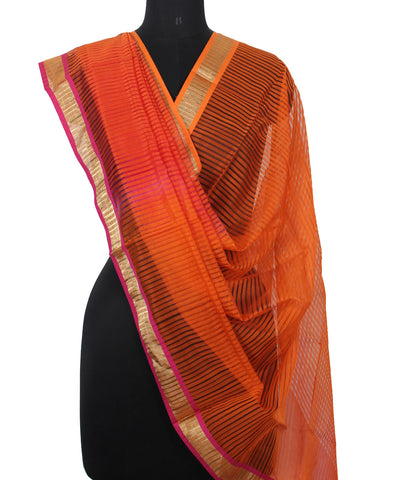 Handwoven Multi Color Sico Dupatta