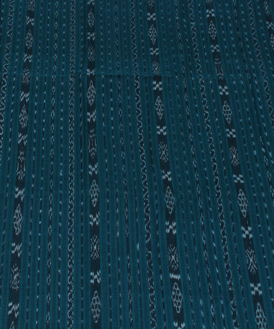 Sea Green Stripe Nuapatna Handloom Fabric