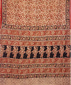 Kalamkari Hand Printed Cotton Saree