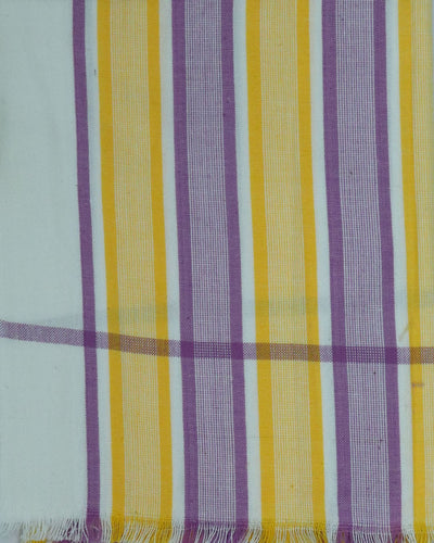 Stripes Design Handloom Changai Cotton Towel