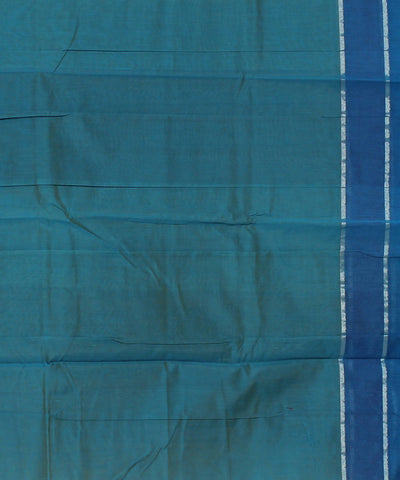 Blue Handloom Chirala Cotton Saree
