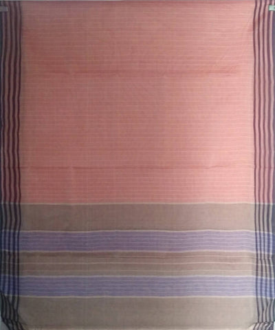 Pale Maroon siddipet tie and dye handwoven cotton saree