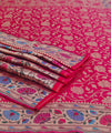 Red Banarasi Silk Handloom Saree