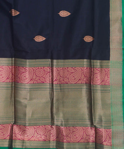 Banarasi Black Handloom Silk Saree