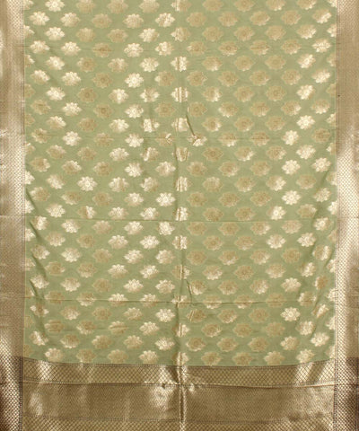 Banarasi Light Green Dupatta