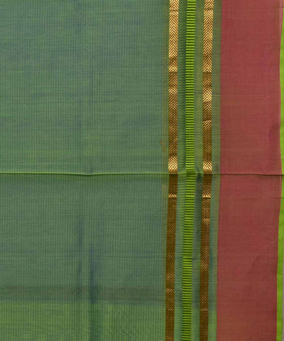 Maheshwari Handloom Bright Blue Sico Saree