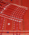 Odisha Orange Handloom Bapta SICO Saree