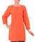 Orange Bandhani Cotton Tunic