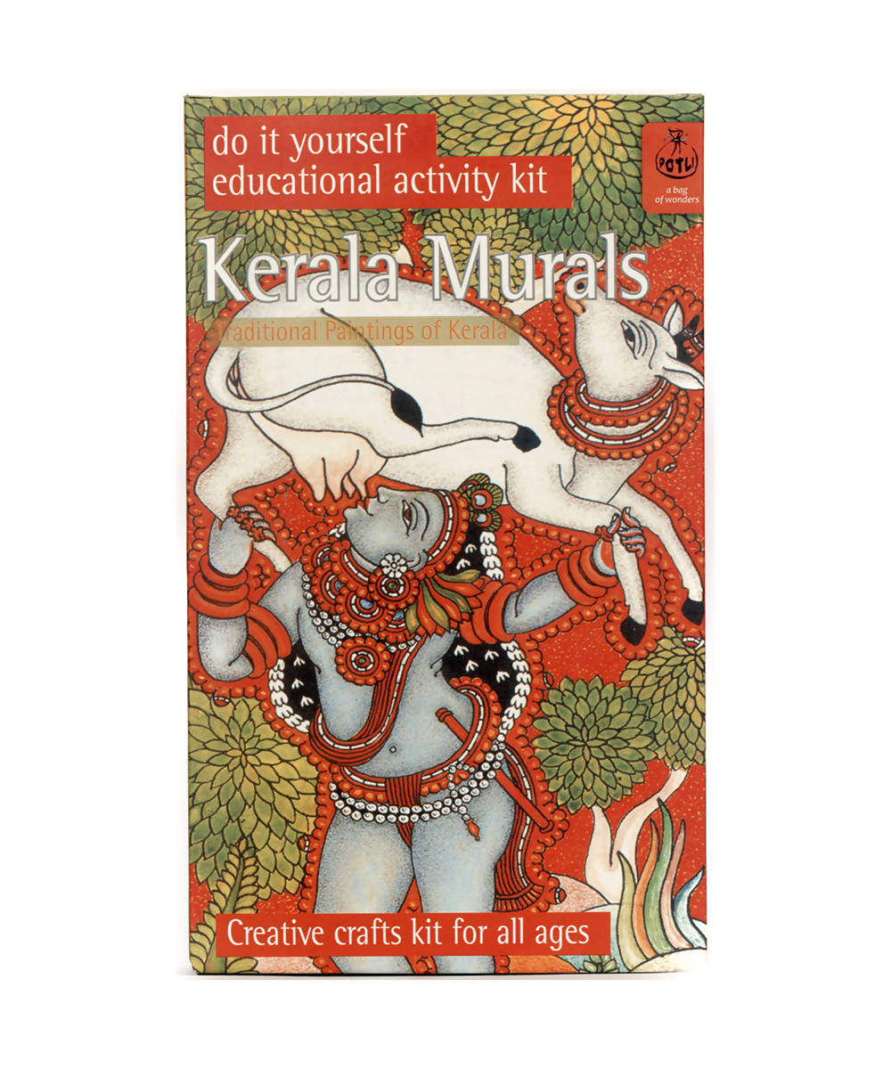Handmade DIY Educational Colouring Kit (Kerala Mural Painting)
