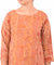 Henna Green and Peach Hand Printed Kurti