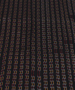 Nuapatna Handloom Cotton Black Fabric