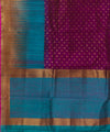 Banarasi Magenta Purple Handloom Silk Saree