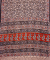 Block Printed Kalamkari Cotton Saree