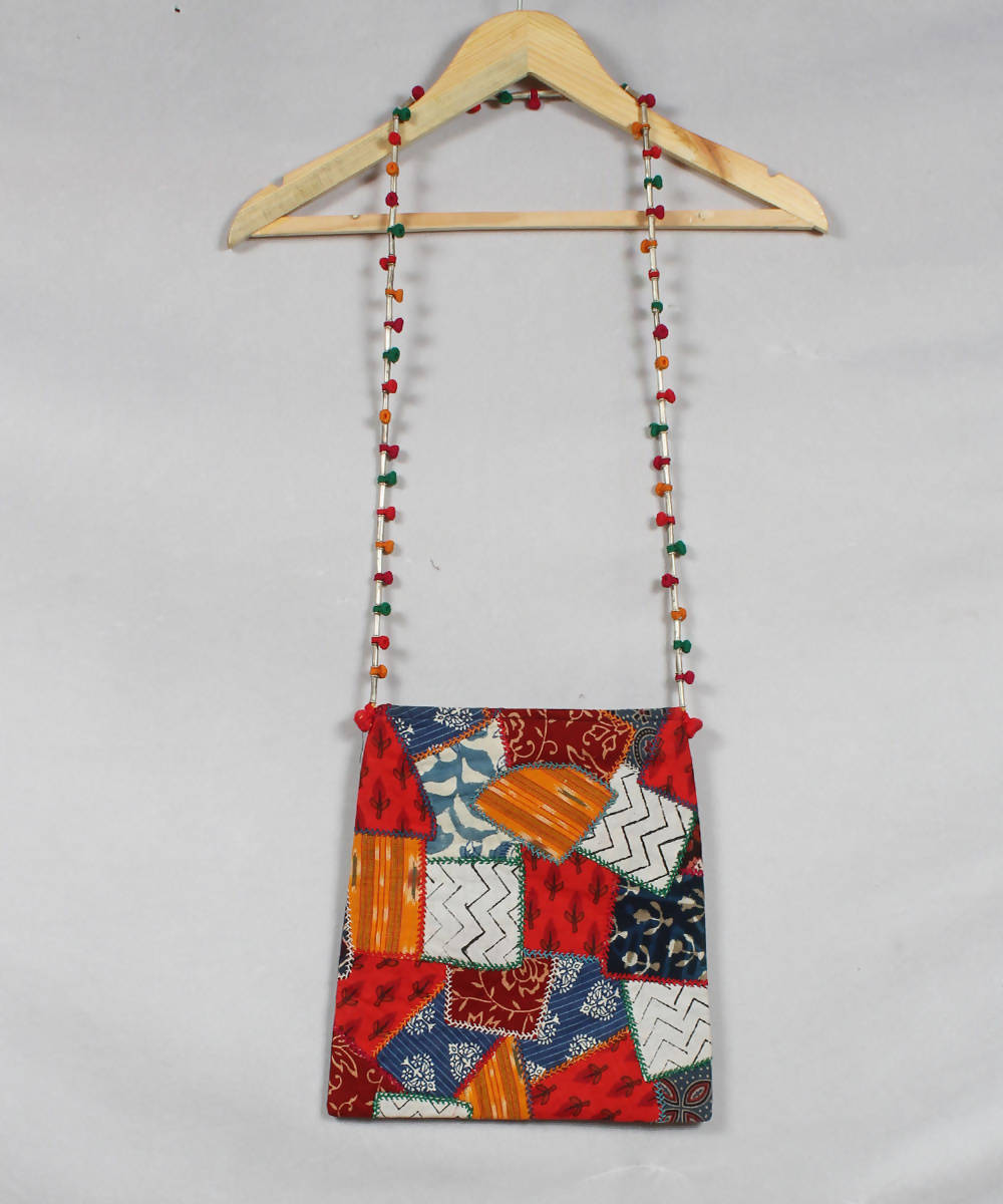 Multicolor Lambani Embroidery Sling Bag