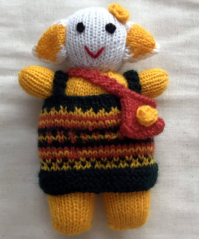 Soft Woollen Hand Knitted Toys (Gudda Guddi) Set of 4