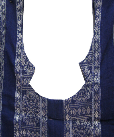 Blue and Silver Kurti