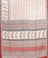 Paisley Handwoven Printed Mulberry Silk Saree