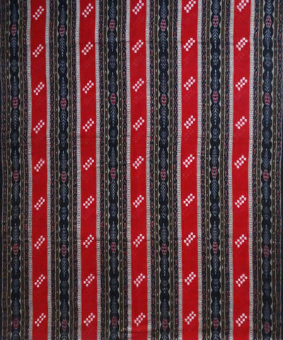 Black, Red Sambalpuri bichitrapuri ikat handloom Material