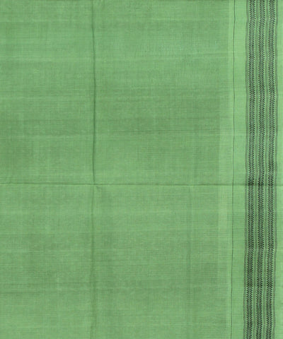 Violet Green Sambalpuri Cotton Saree