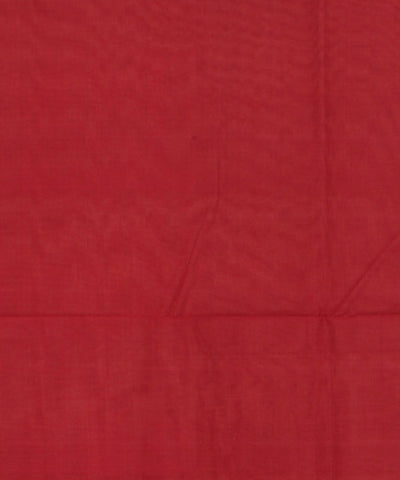 Peru Maroon Sambalpuri Handloom Cotton Saree