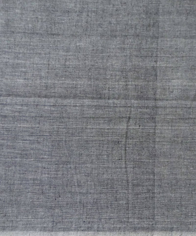 Grey and Apricot Nuapatna cotton Handwoven Dress Material