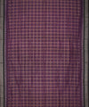 Purple Black Handloom Sambalpuri Cotton Saree