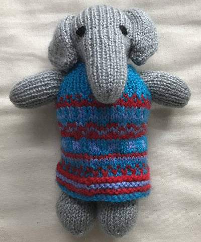 Hand Knitted Woollen Animal Stuffed Toys Set of 4