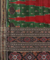 Khandua Multi Colour Handwoven Silk Saree