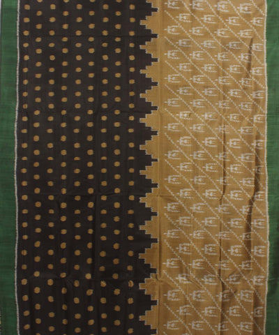 Multi Colour Khandua Handwoven Silk Saree