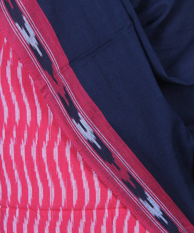 Handloom Red Ikat pochampally cotton suit