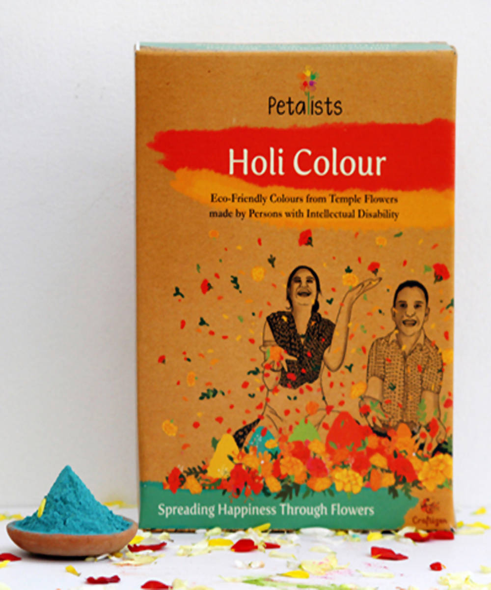 Petalists eco friendly holi colour blue