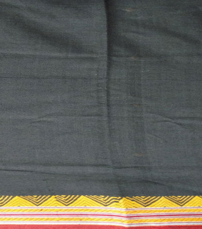 Dongaria saree in New Design in Black And Maroon  Traditional tie And dye Sambalpuri ikat cotton Saree
