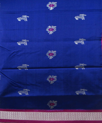 Blue Orchid Silk Saree