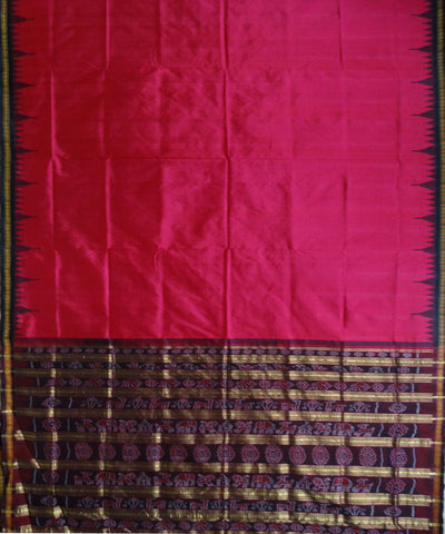 Dogwood Rose Silk Saree