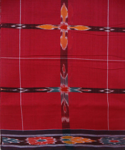 Cardinal Cotton Saree