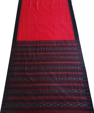 Crimson phodakumbha cotton Saree