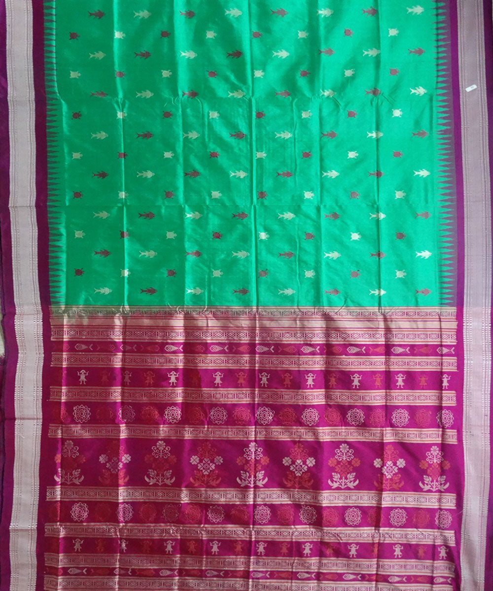 Emerald Silk Saree