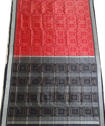 Dark Red Utkallaxmi silk saree