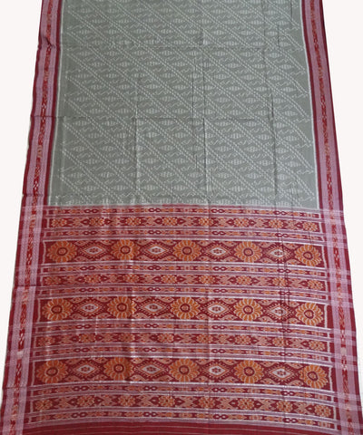 Dark Sea Green Cotton Saree