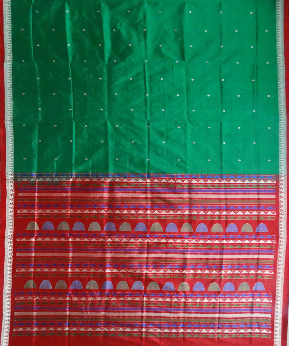 Ao (English) bomkai silk saree