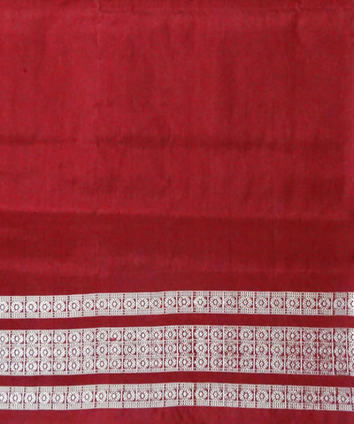 Dark Gray Ashwini Ikat Silk Handloom Saree